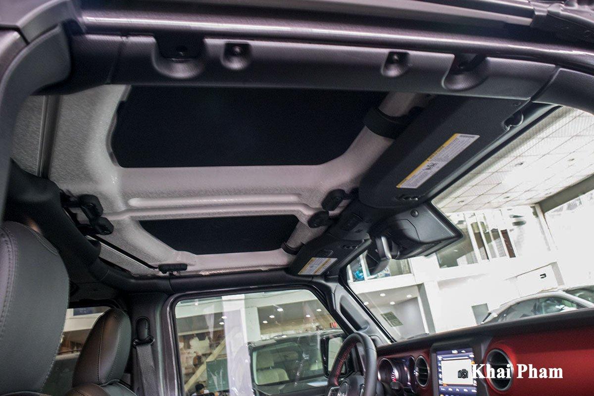 Ảnh Cửa sổ trời xe Jeep Wrangler 2020