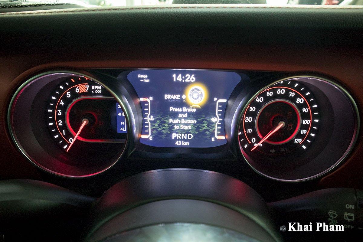 Ảnh Đồng hồ xe Jeep Wrangler 2020