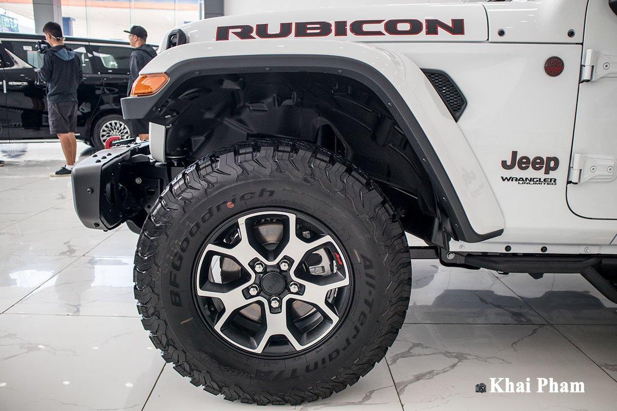Ảnh La-zăng xe Jeep Wrangler 2020