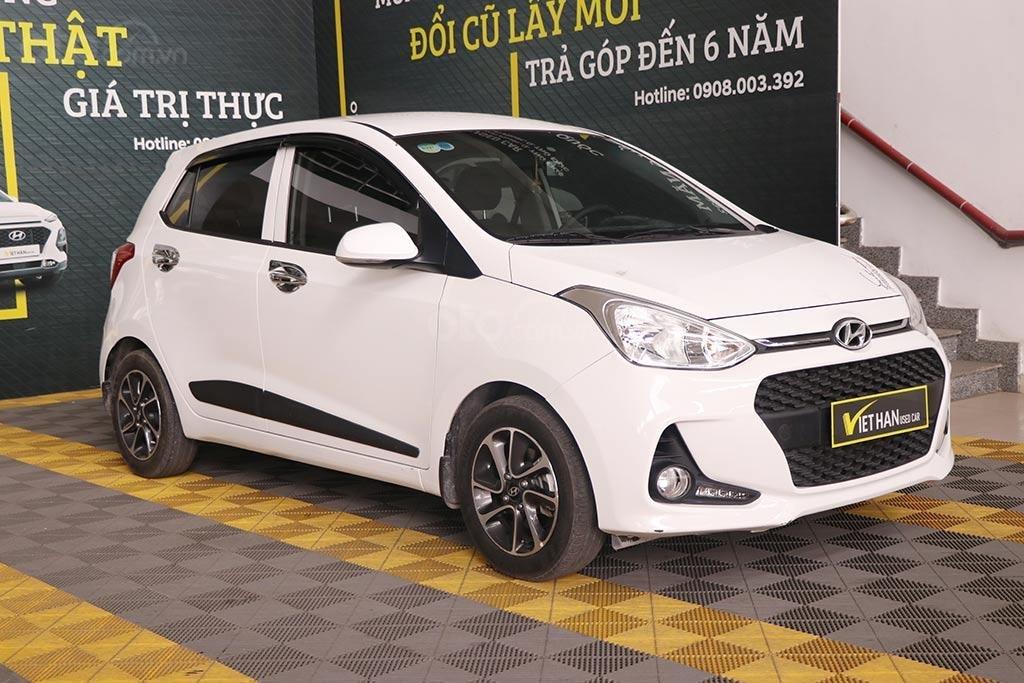 Hyundai Grand I10 1.2MT Hatchback 2019, màu trắng (1)