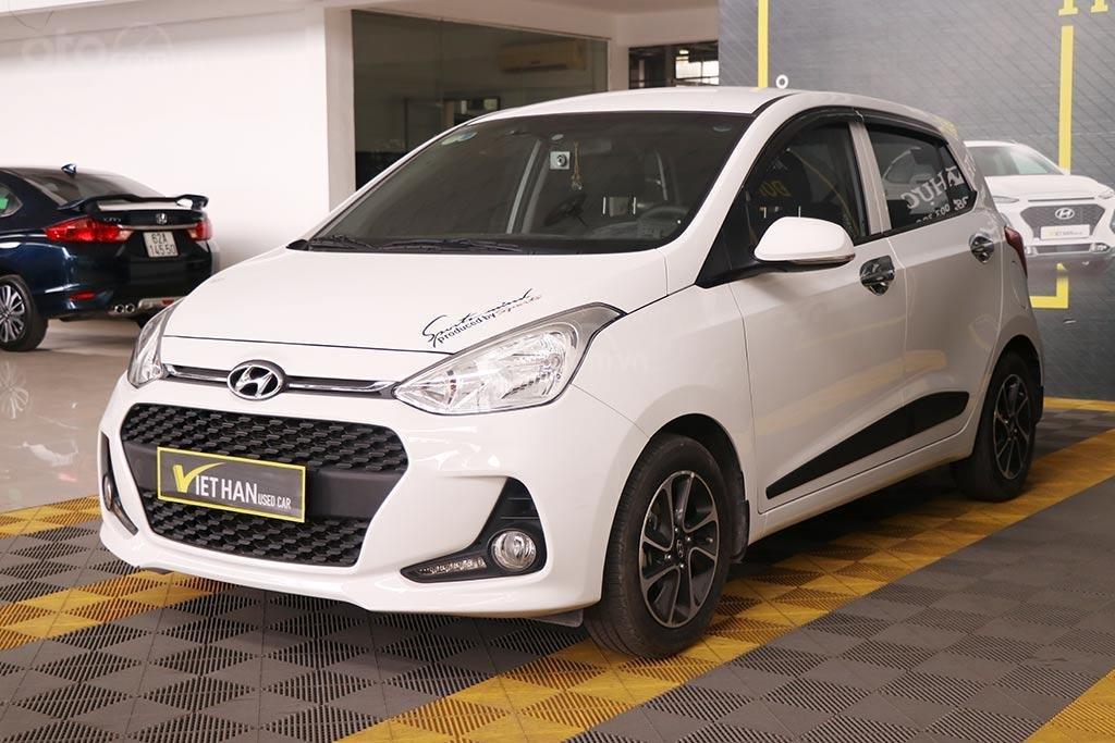 Hyundai Grand I10 1.2MT Hatchback 2019, màu trắng (2)