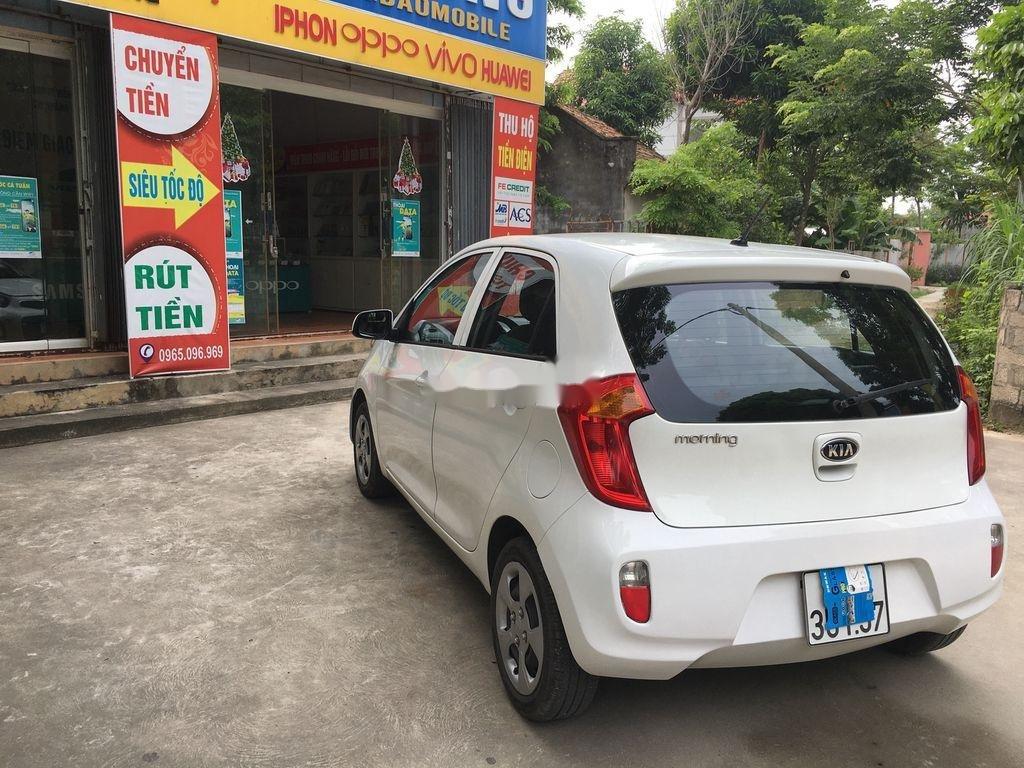 Cần bán Kia Morning đời 2013, màu trắng giá cạnh tranh (3)