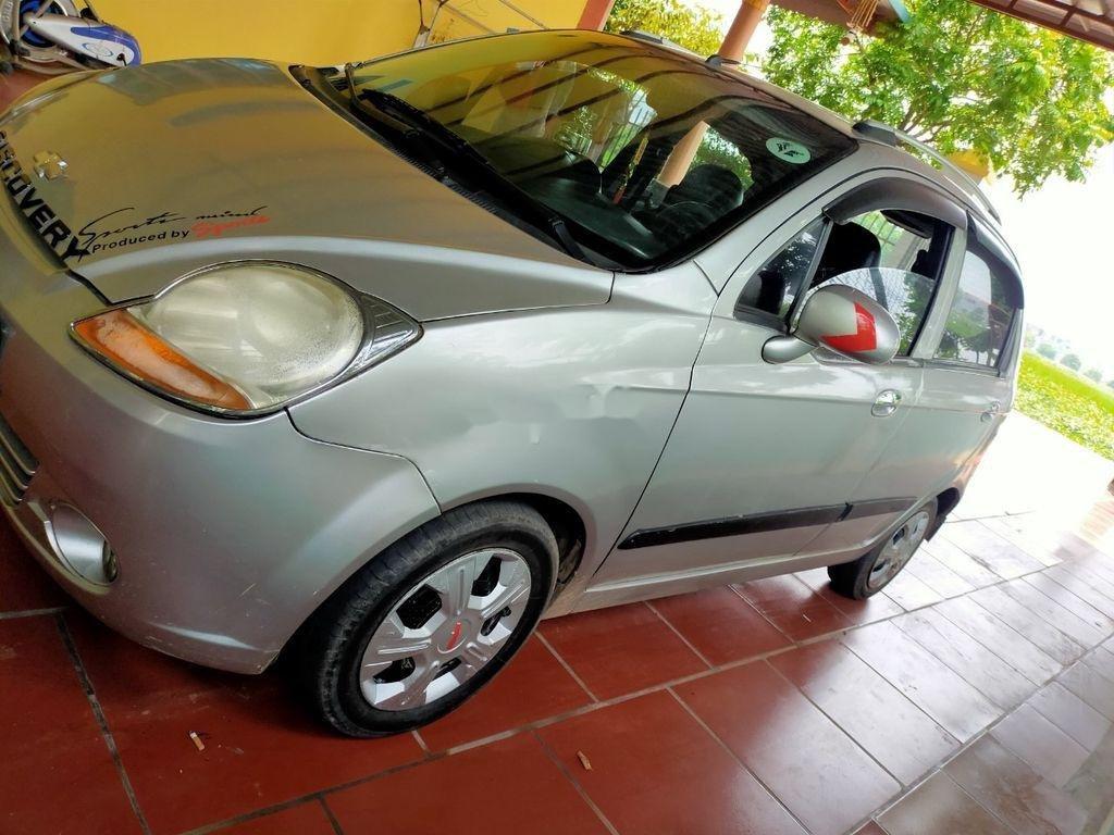 Cần bán gấp Chevrolet Spark Van đời 2009, màu bạc (5)