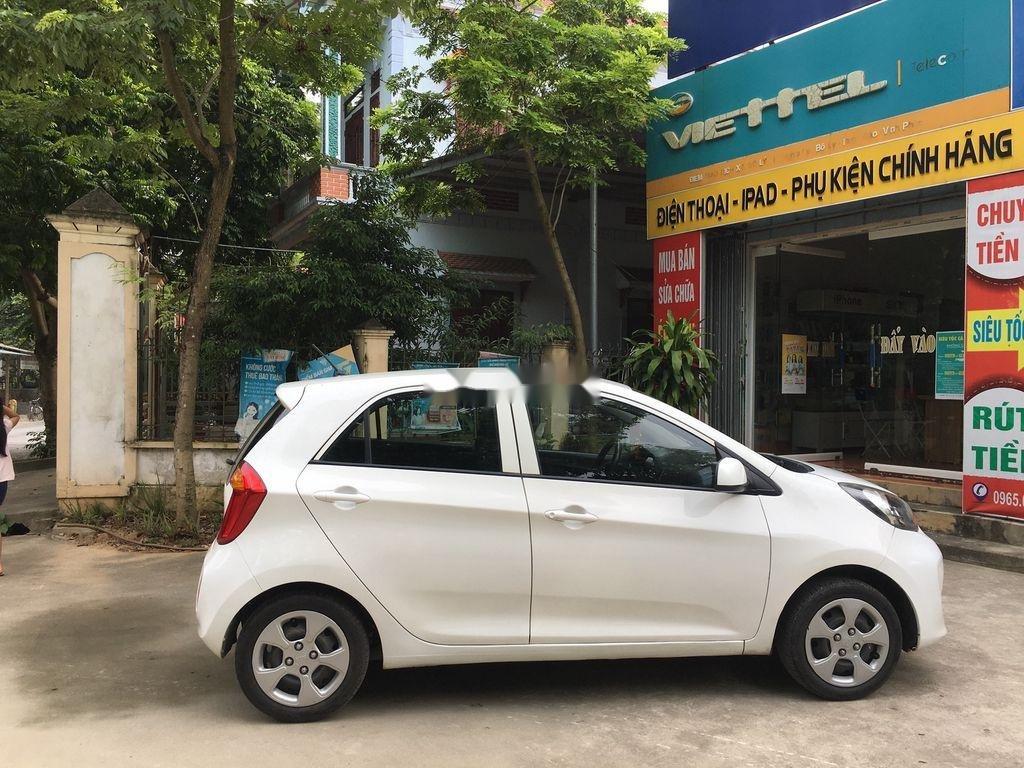 Cần bán Kia Morning đời 2013, màu trắng giá cạnh tranh (2)