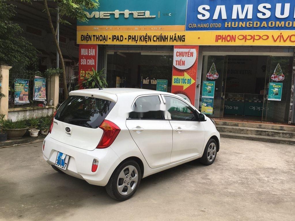 Cần bán Kia Morning đời 2013, màu trắng giá cạnh tranh (4)