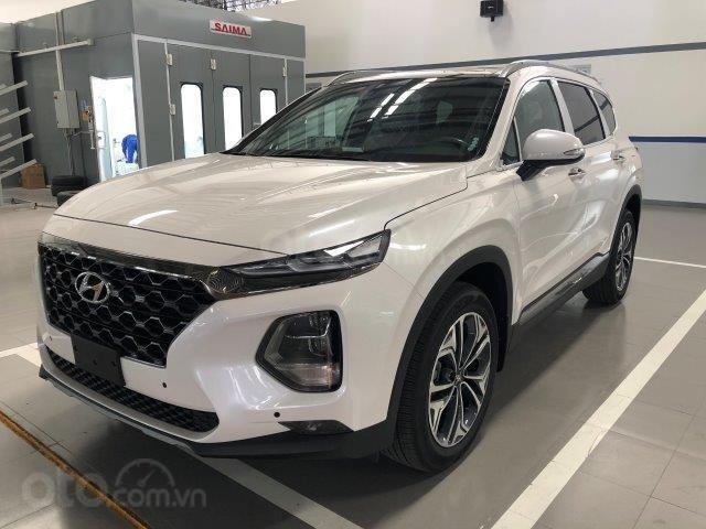 Xe Hyundai Santafe 2020 2.2D đang hot nhất thị trường giảm giá sâu liên hệ ngay (1)