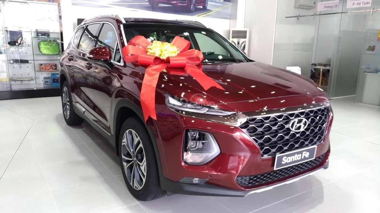 [Siêu khuyến mãi] Hyundai Santafe 2020 giảm ngay 50% thuế TB + quà tặng cực kỳ hấp dẫn, trả trước 200 triệu nhận ngay xe (1)