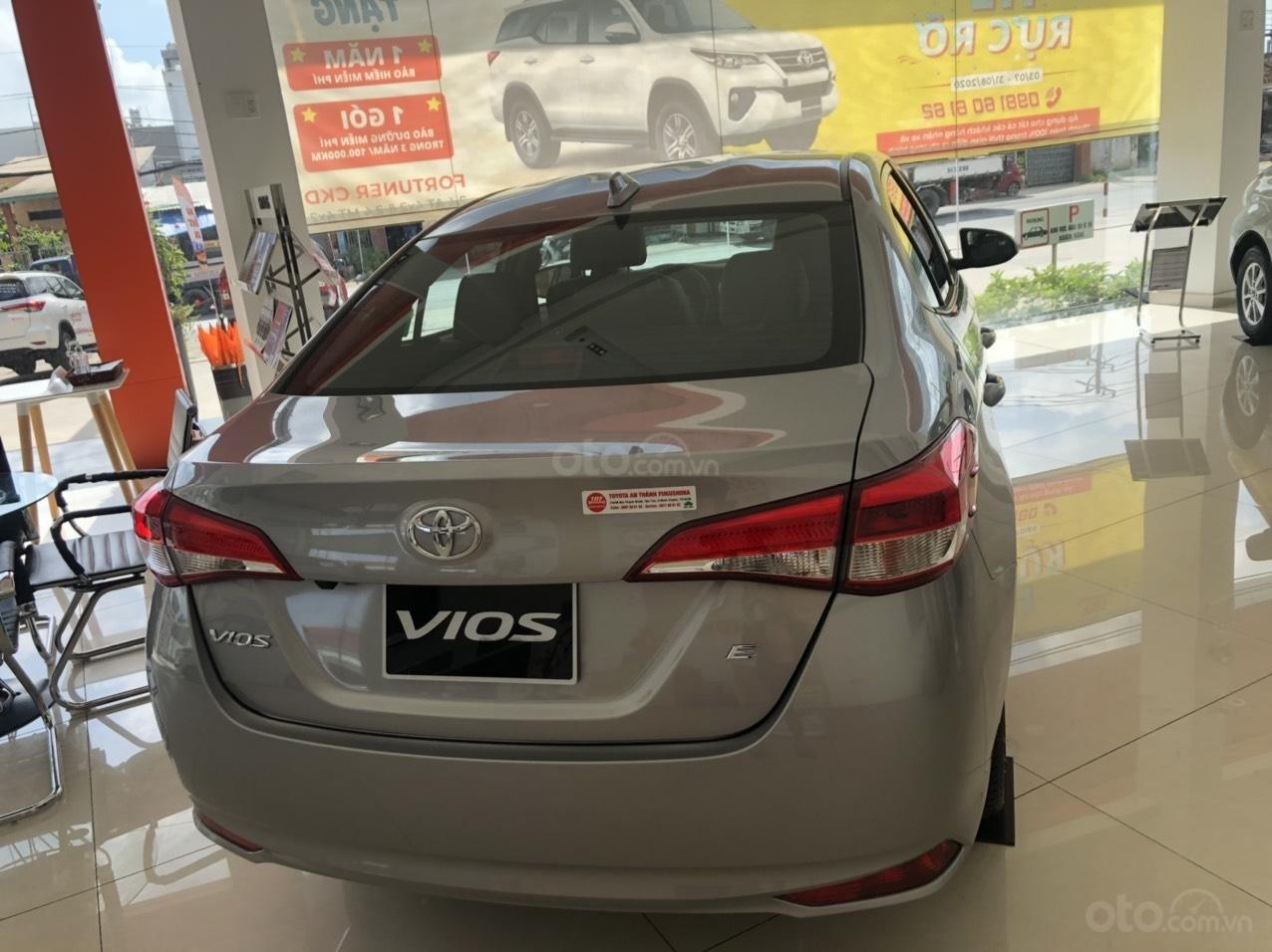 Toyota Vios 1.5 số sàn - mua trả góp với 119 triệu - khuyến mãi ngay tiền mặt, hỗ trợ trước bạ xe (4)