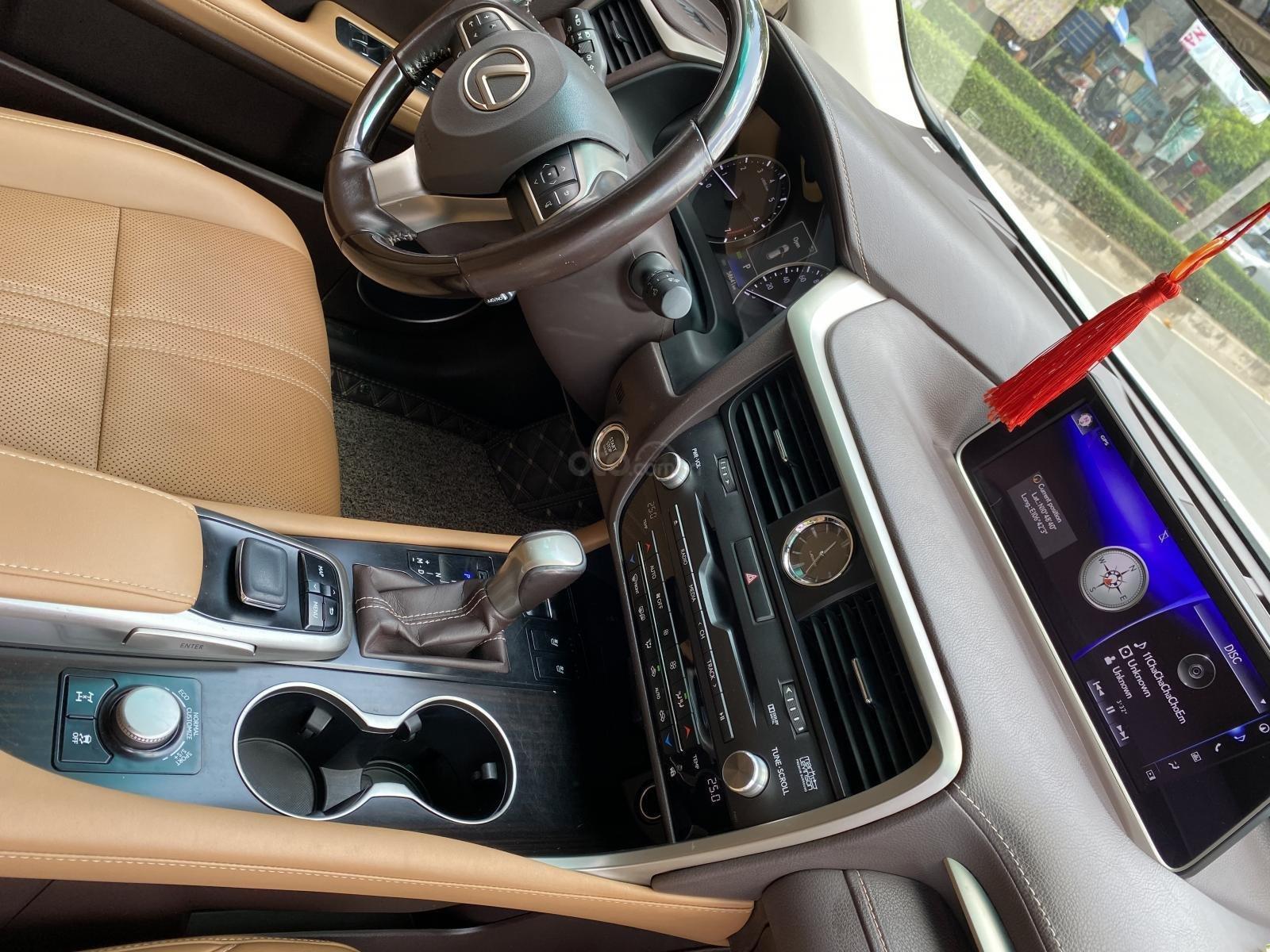 Lexus RX350 nhập Mỹ cuối 2016, mẫu mới nhất, màu trắng, hàng full cao cấp, đủ đồ chơi không thiếu món nào hắt kính loa Mark (11)