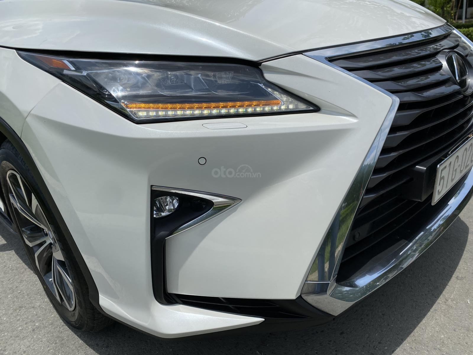 Lexus RX350 nhập Mỹ cuối 2016, mẫu mới nhất, màu trắng, hàng full cao cấp, đủ đồ chơi không thiếu món nào hắt kính loa Mark (6)