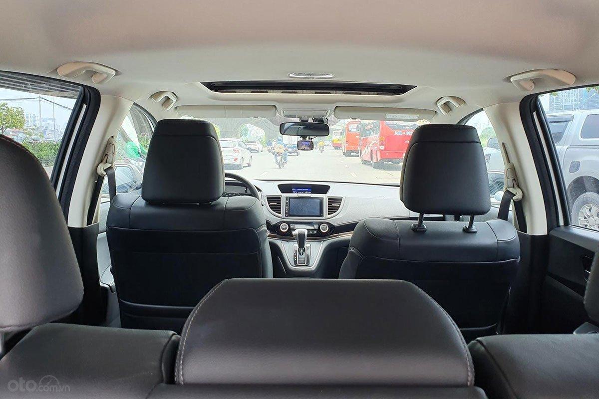 Hàng ghế sau xe Honda CR-V 2016 1