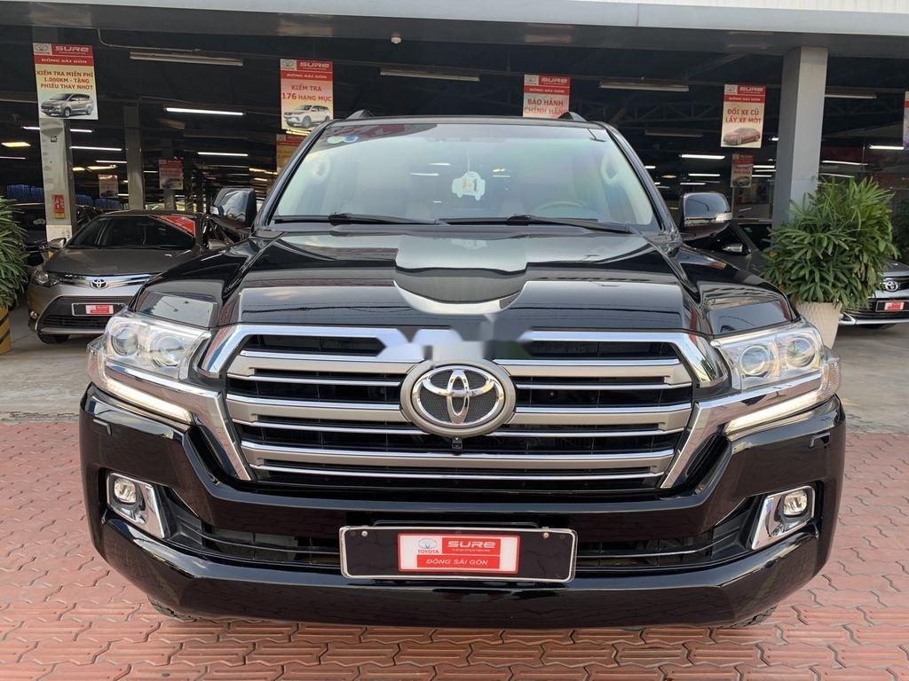 Bán xe Toyota Land Cruiser đời 2016, màu đen, nhập khẩu nguyên chiếc (7)