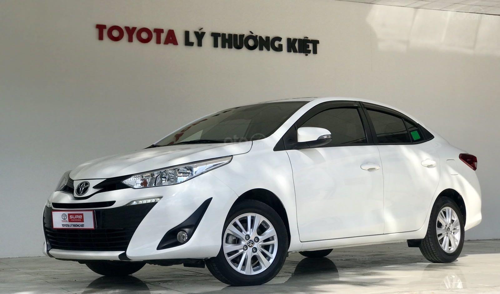 Bán xe Toyota Vios đời 2018, màu trắng xe giá tốt 480 triệu đồng (2)