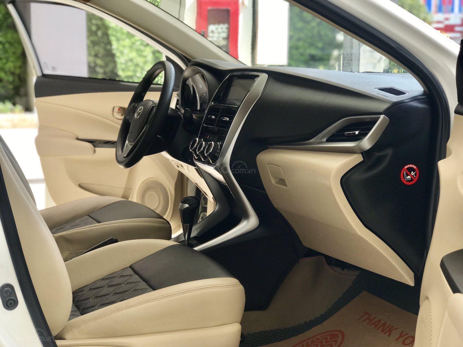Bán xe Toyota Vios đời 2018, màu trắng xe giá tốt 480 triệu đồng (5)