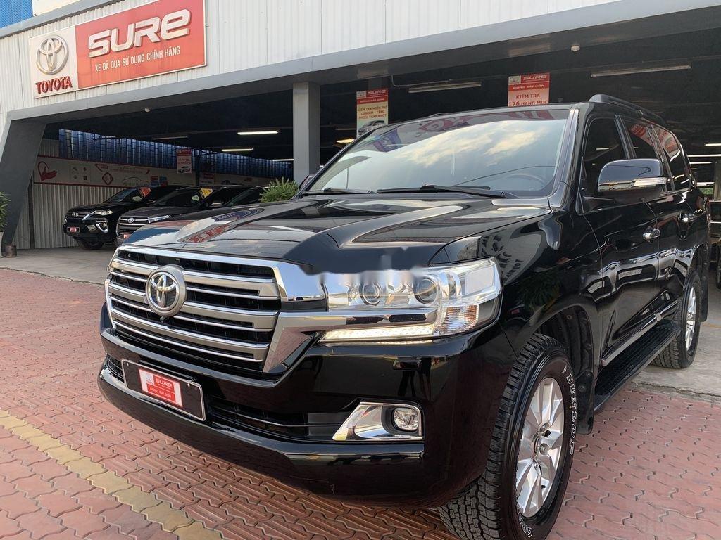 Bán xe Toyota Land Cruiser đời 2016, màu đen, nhập khẩu nguyên chiếc (1)