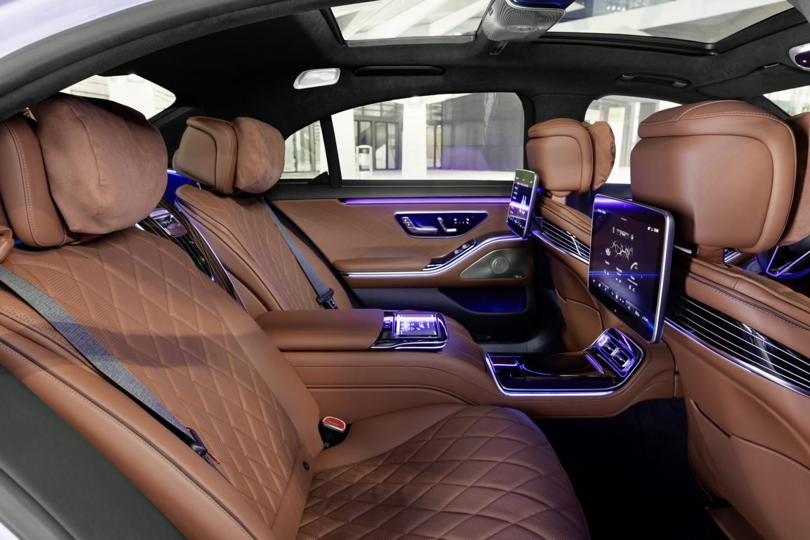 Mercedes S-Class 2021 an toàn tuyệt đối và thoải mái tối đa.