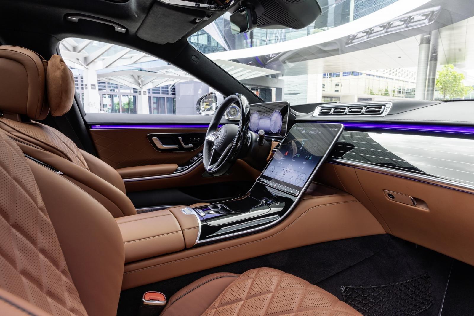 Mercedes S-Class 2021 đảm bảo người dùng có trải nghiệm lái tuyệt vời.
