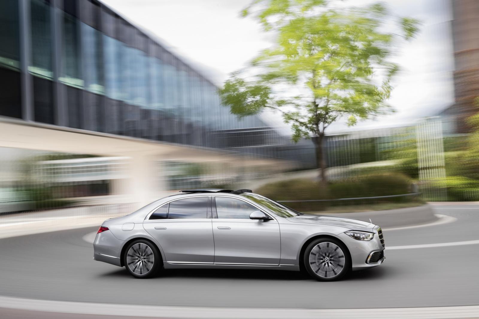 Mercedes S-Class 2021 mở rộng kích cỡ hứa hẹn mang đến trải nghiệm tuyệt đỉnh.