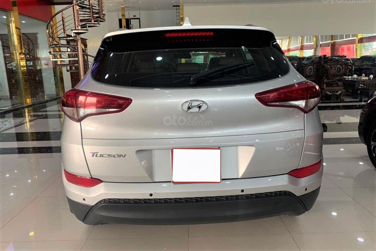 Thiết kế đuôi xe Hyundai Tucson 2017 1