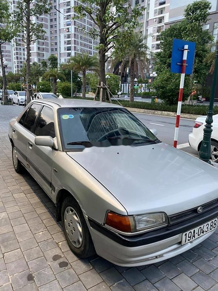 Cần bán lại xe Mazda 323 đời 1995, màu bạc, nhập khẩu (2)