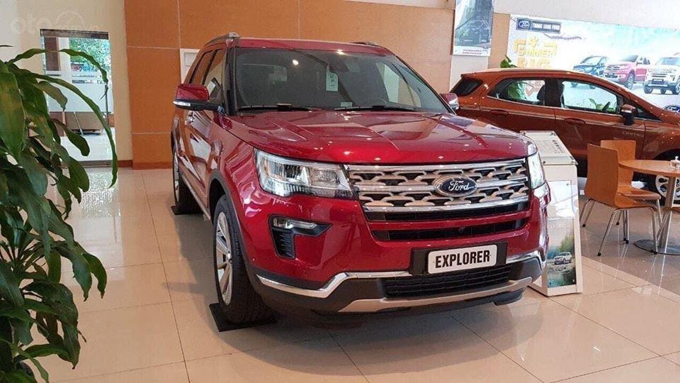 Ford Explorer Limited 2.3 nhập khẩu, ưu đãi hơn 300tr tiền mặt (1)