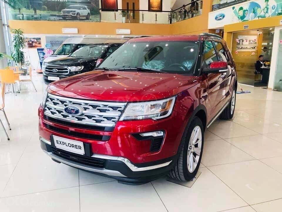 Ford Explorer Limited 2.3 nhập khẩu, ưu đãi hơn 300tr tiền mặt (2)