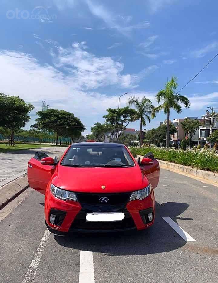 Chính chủ bán xe Kia Cerato Koup đời 2010, màu đỏ, nhập khẩu  (1)