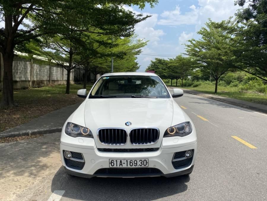 Bán ô tô BMW X6 xDrive 35i đời 2013, màu trắng, nhập khẩu nguyên chiếc (1)