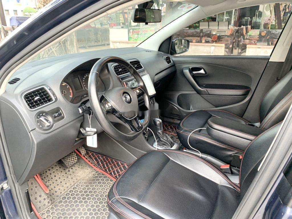 Bán Volkswagen Polo 1.6AT sản xuất 2015, màu xanh lam, nhập khẩu  (4)