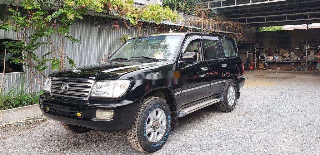 Cần bán lại xe Toyota Land Cruiser năm 2003, màu đen, giá 365tr (9)