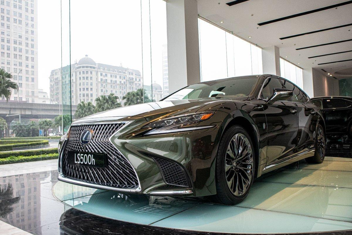 Lexus LS 2021 mới nhất.