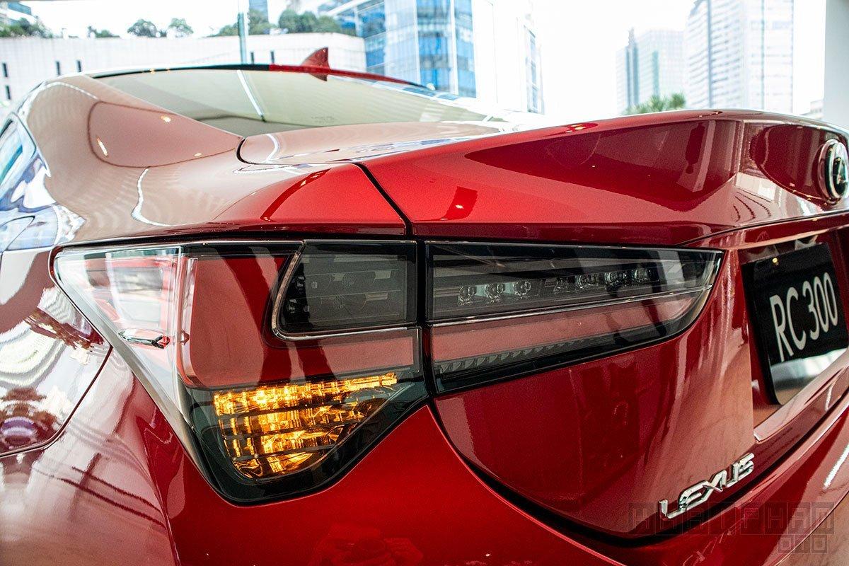 Ngoại thất Lexus RC 2021 2