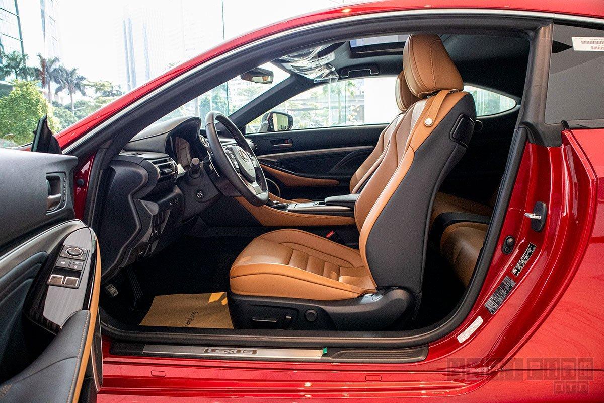 Nội thất Lexus RC 2021 mới nhất 1.