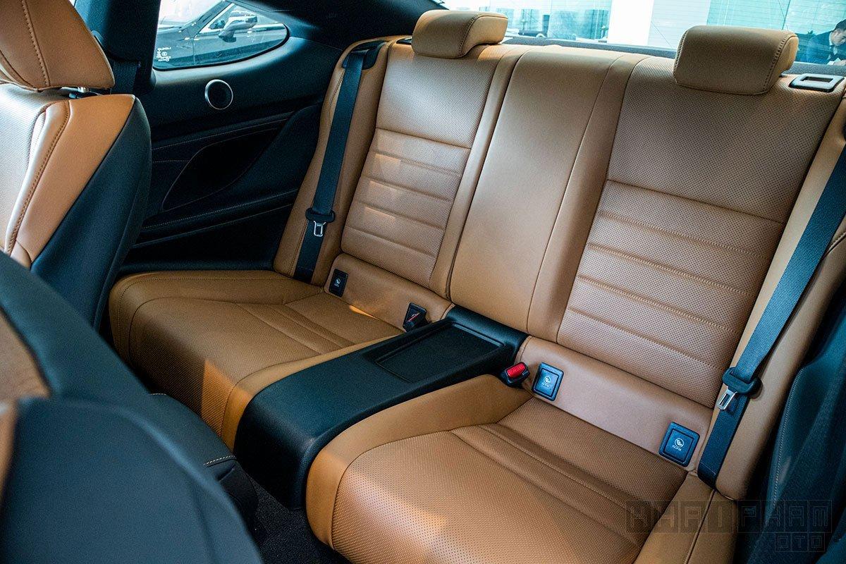 Nội thất Lexus RC 2021 mới nhất 2.
