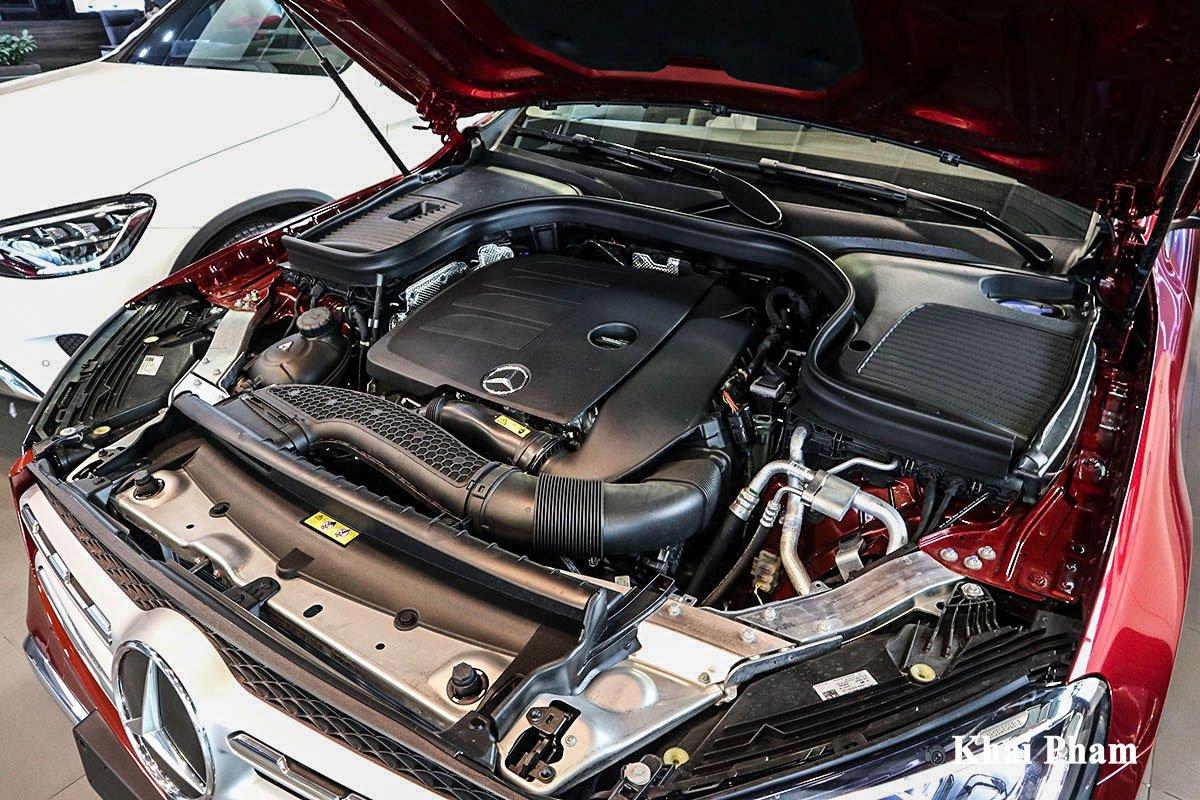 Động cơ Mercedes-Benz GLC 200 4Matic 2021.