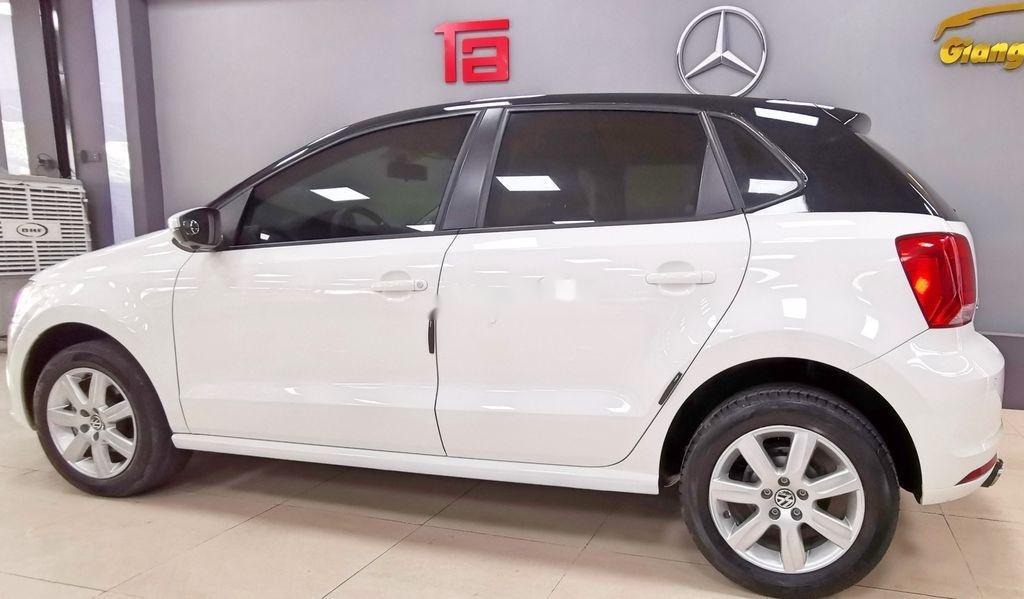 Cần bán lại xe Volkswagen Polo năm sản xuất 2016, màu trắng   (4)