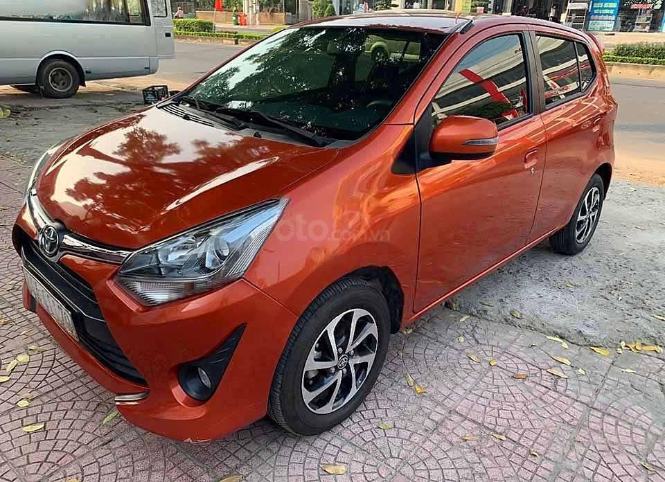 Cần bán lại xe Toyota Wigo AT sản xuất 2019, màu đỏ, nhập khẩu nguyên chiếc (1)