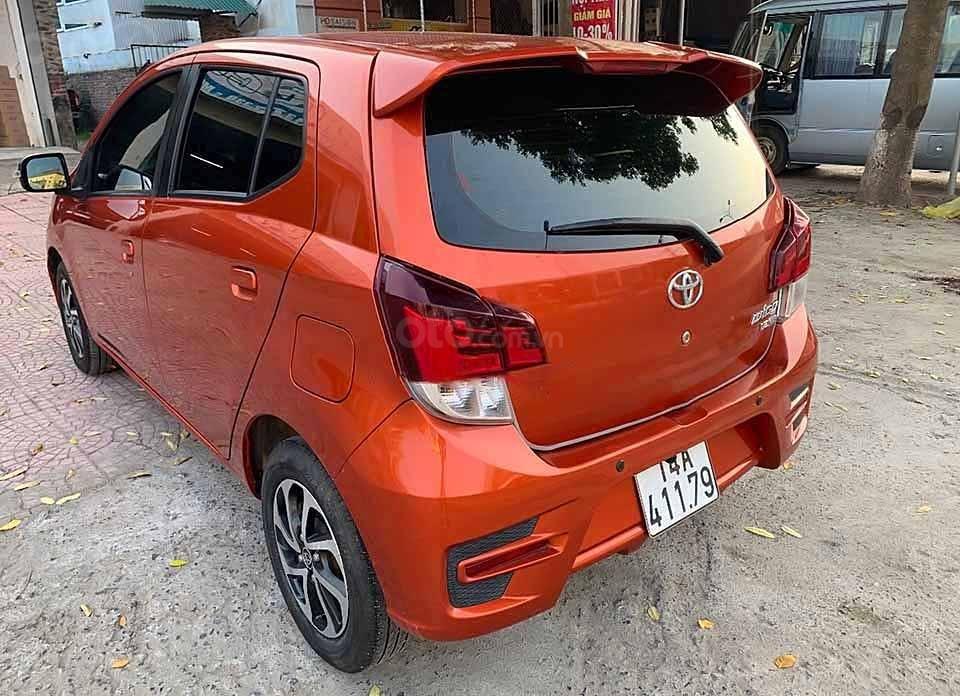 Cần bán lại xe Toyota Wigo AT sản xuất 2019, màu đỏ, nhập khẩu nguyên chiếc (5)