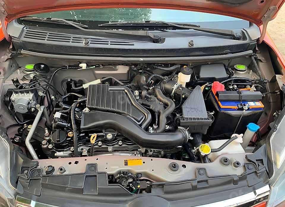 Cần bán lại xe Toyota Wigo AT sản xuất 2019, màu đỏ, nhập khẩu nguyên chiếc (2)