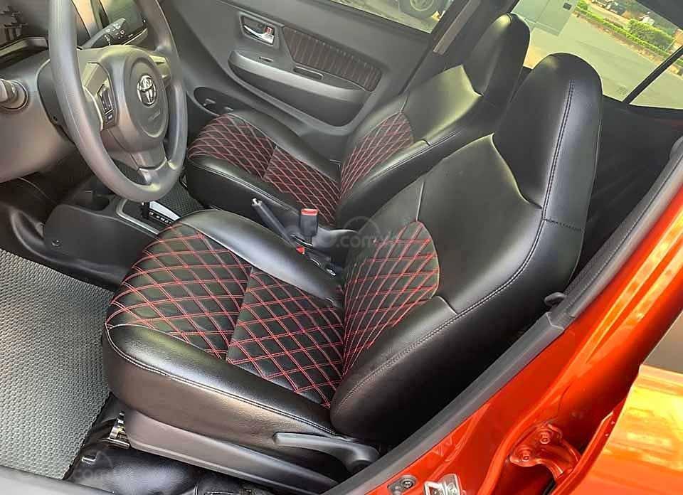 Cần bán lại xe Toyota Wigo AT sản xuất 2019, màu đỏ, nhập khẩu nguyên chiếc (3)