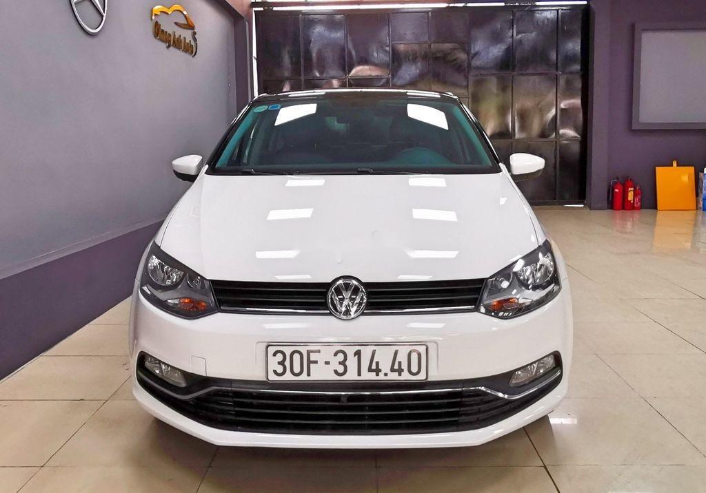 Cần bán lại xe Volkswagen Polo năm sản xuất 2016, màu trắng   (1)