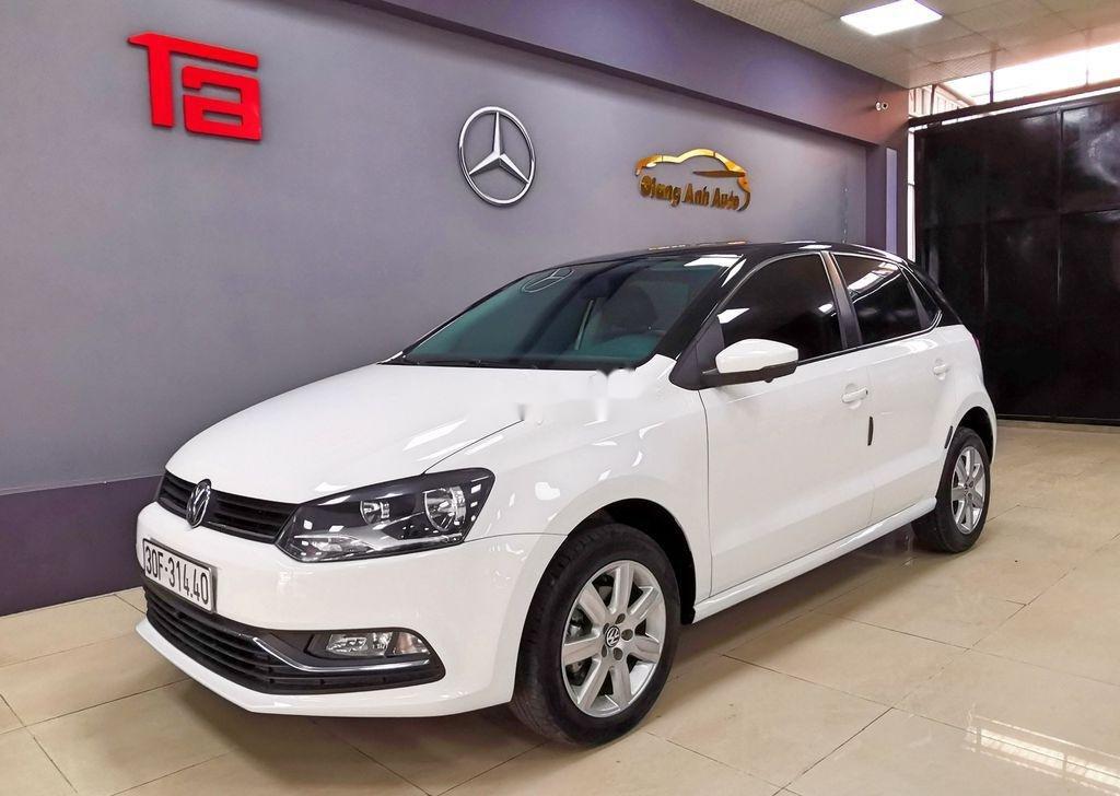 Cần bán lại xe Volkswagen Polo năm sản xuất 2016, màu trắng   (2)