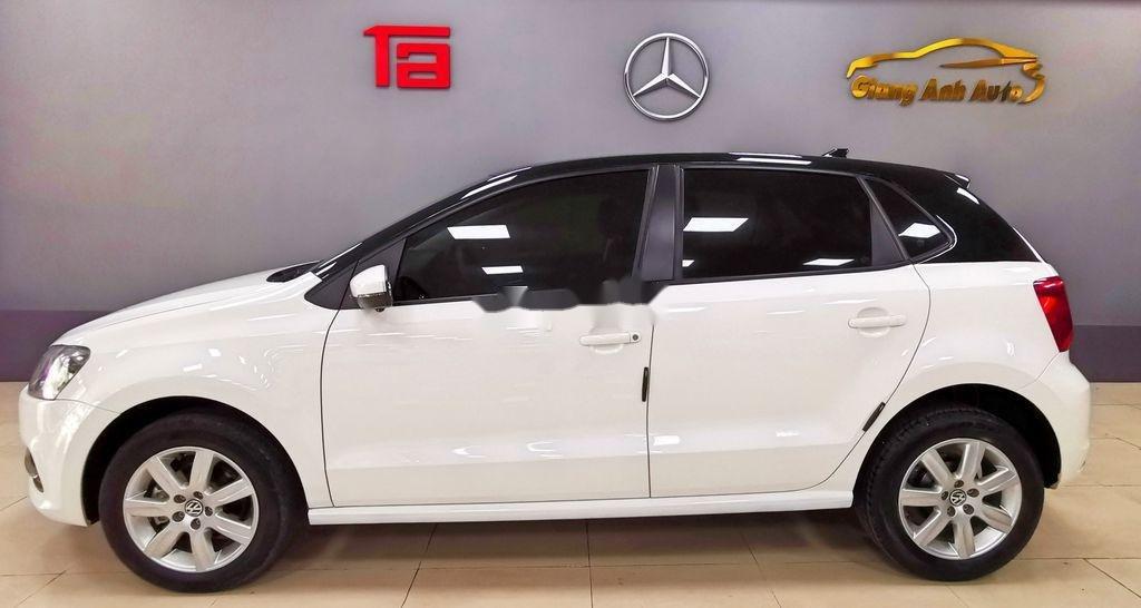 Cần bán lại xe Volkswagen Polo năm sản xuất 2016, màu trắng   (3)