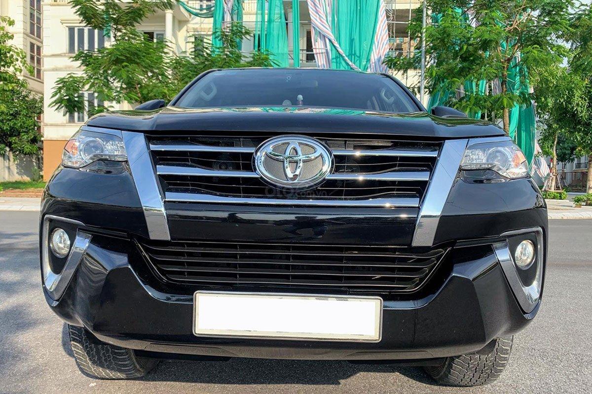 Thiết kế đầu xe Toyota Fortuner 2017 1