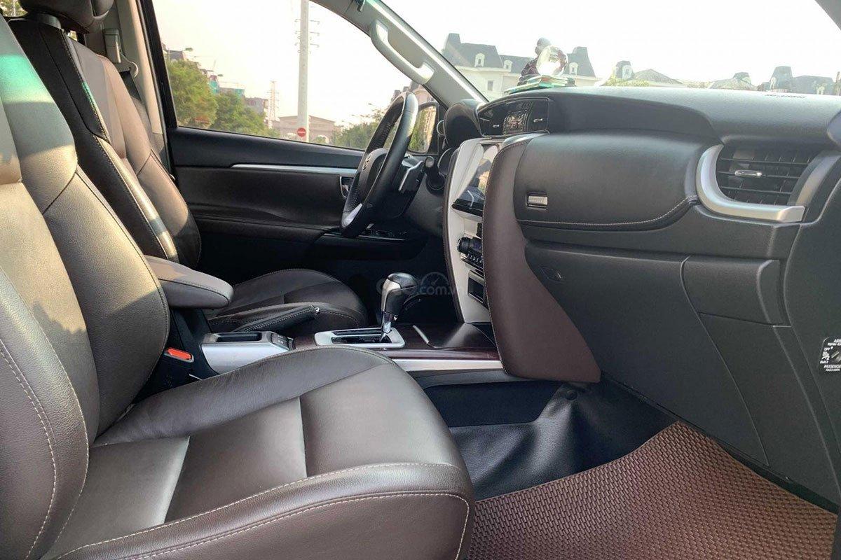 Hàng ghế trước Toyota Fortuner 2017 1