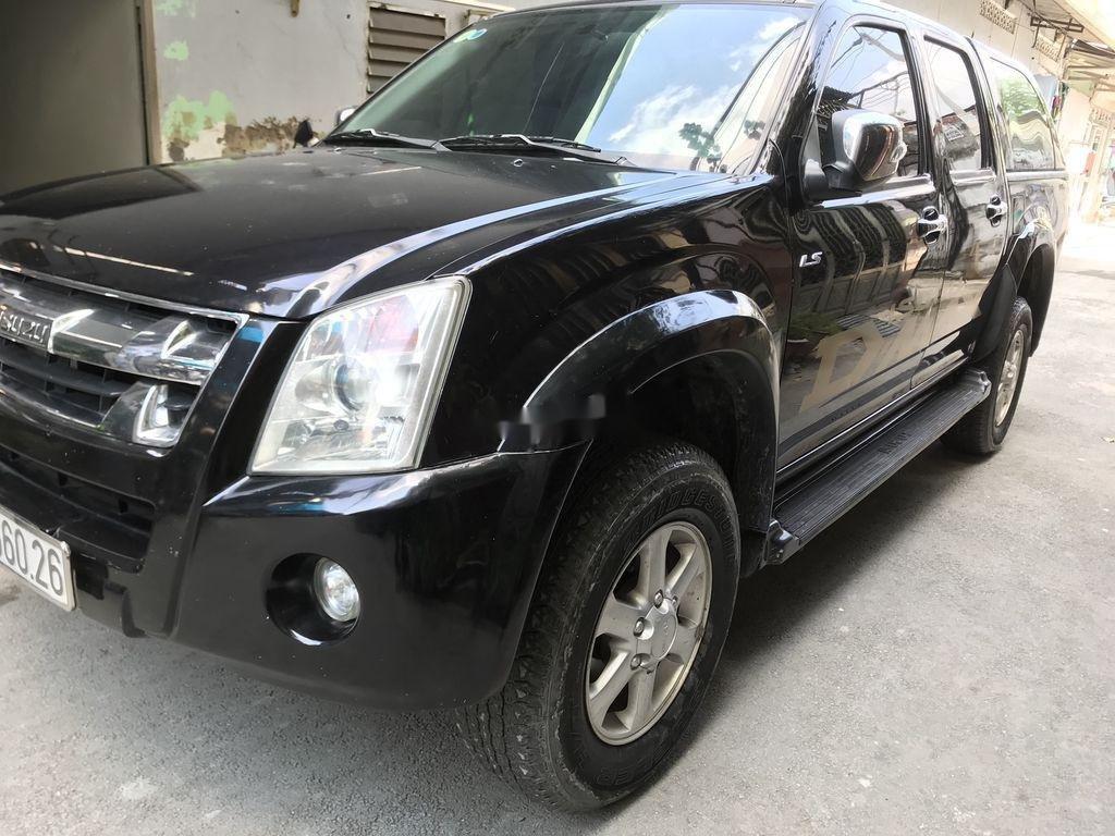 Bán xe Isuzu Dmax 3.0 năm 2011, màu đen còn mới (2)