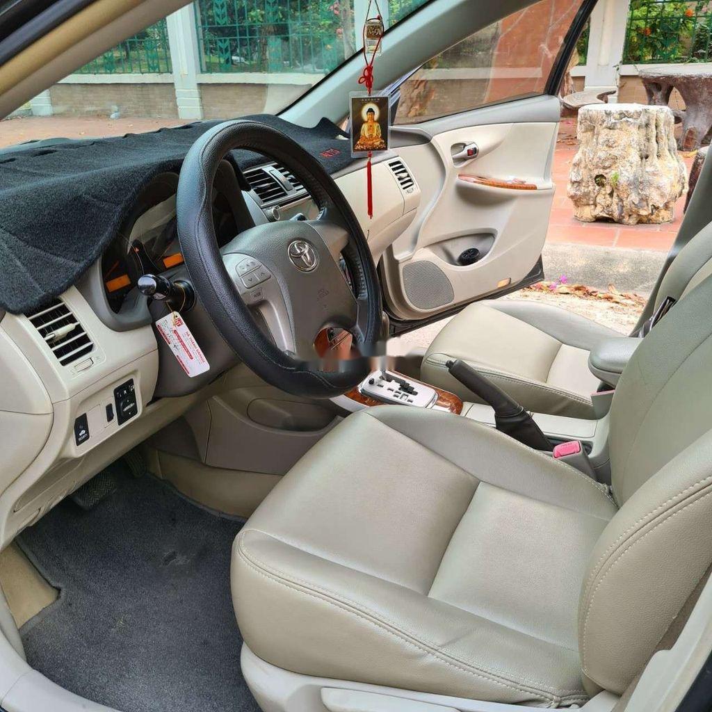 Bán xe Toyota Corolla Altis sản xuất năm 2009, màu đen  (6)