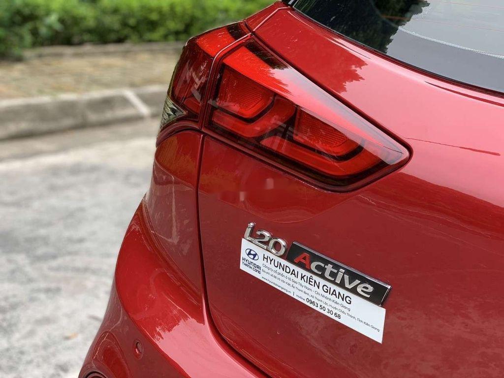 Cần bán lại xe Hyundai i20 Active đời 2015, màu đỏ, nhập khẩu nguyên chiếc (5)