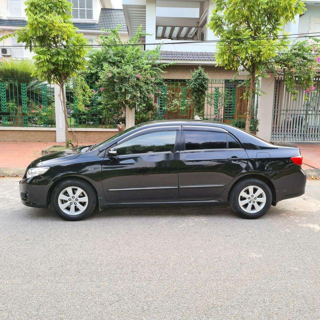 Bán xe Toyota Corolla Altis sản xuất năm 2009, màu đen  (1)