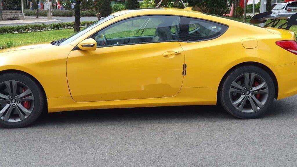 Bán Hyundai Genesis đời 2010, màu vàng, xe nhập, giá chỉ 430 triệu (1)